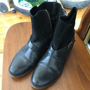 Wolverine Frye style booties purchased for $169